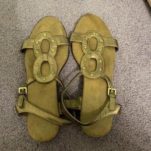 Aerosoles Size 9 Brown Sandals